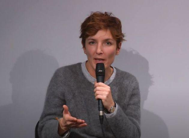Judith Siboni lors d'une tablie ronde CND-SACD en décembre