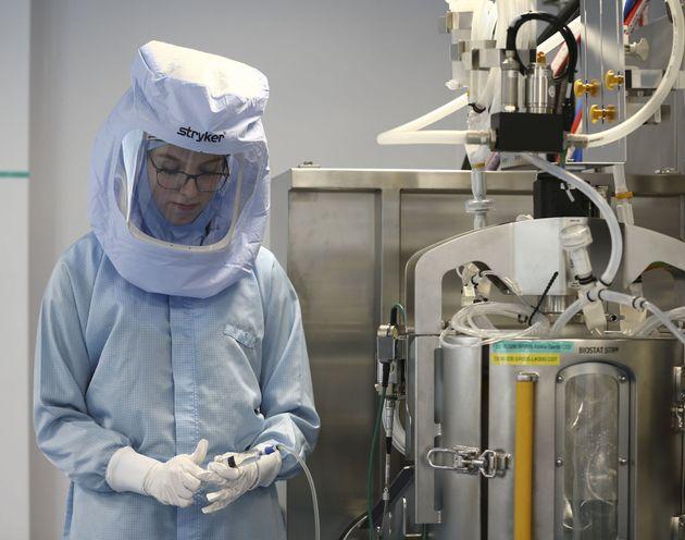 Εργοστάσιο παραγωγής εμβολίων Pfizer, BioNTech, στην