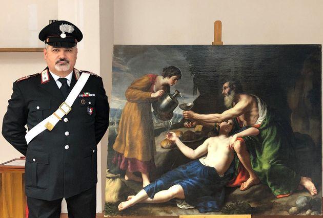 Une unité de carabiniers italiens a retrouvé le tableau de Nicolas