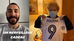Cette fan centenaire de Karim Benzema a eu droit au plus beau des