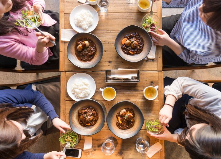 After more than a year of social distancing and staying at home during the pandemic, it may take a while before customers warm up to the idea of communal tables again.