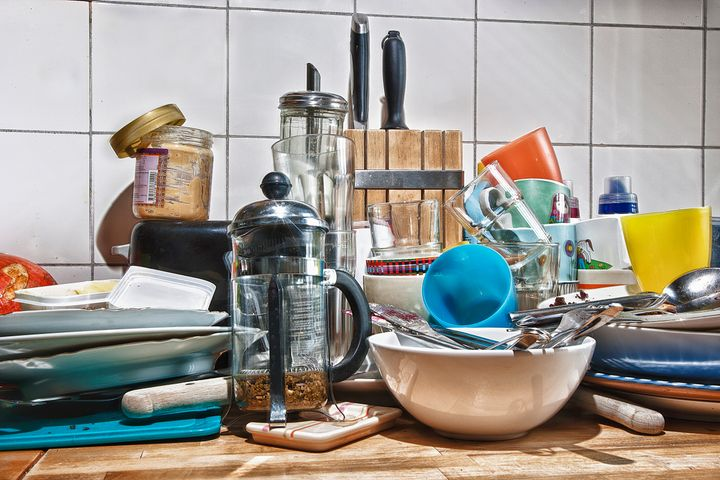 A cluttered or disorganized home can be a major source of stress, especially for some people with anxiety.