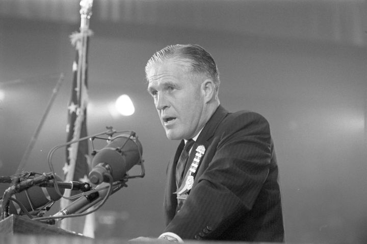 Michigan Gov. George Romney warned Republicans about the dangers of extremism in a famous 1964 speech that his then 17-year-o