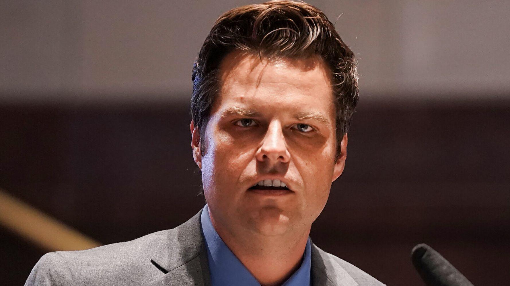 New Matt Gaetz Bombshell Report Alleges Drugs, Sex, Money... And Receipts