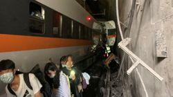 Taiwan: Dozens Killed After Express Train Derails In