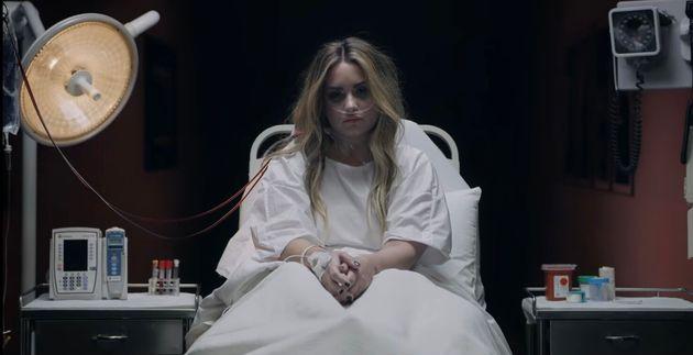 Demi Lovato dans le clip de sa chanson