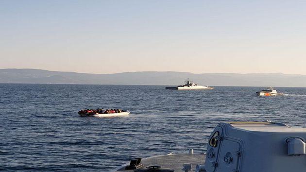 Μπαράζ προκλητικών ενεργειών και παρενοχλήσεων από τουρκικές ακταιωρούς στη