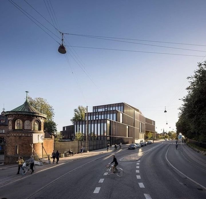 Τα κεντρικά της εταιρείας ζυθοποιίας Carlsberg στην Κοπεγχάγη