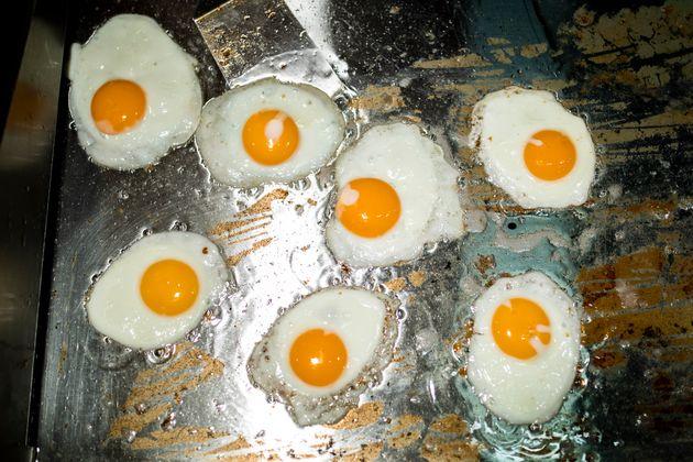 Τηγανιτά αυγά