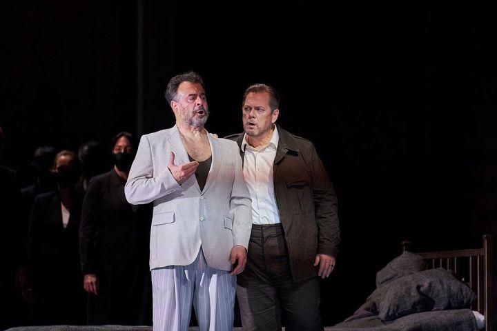 Carlos Álvarez y Gregory Kunde en 'Otello' de Verdi en el Liceu