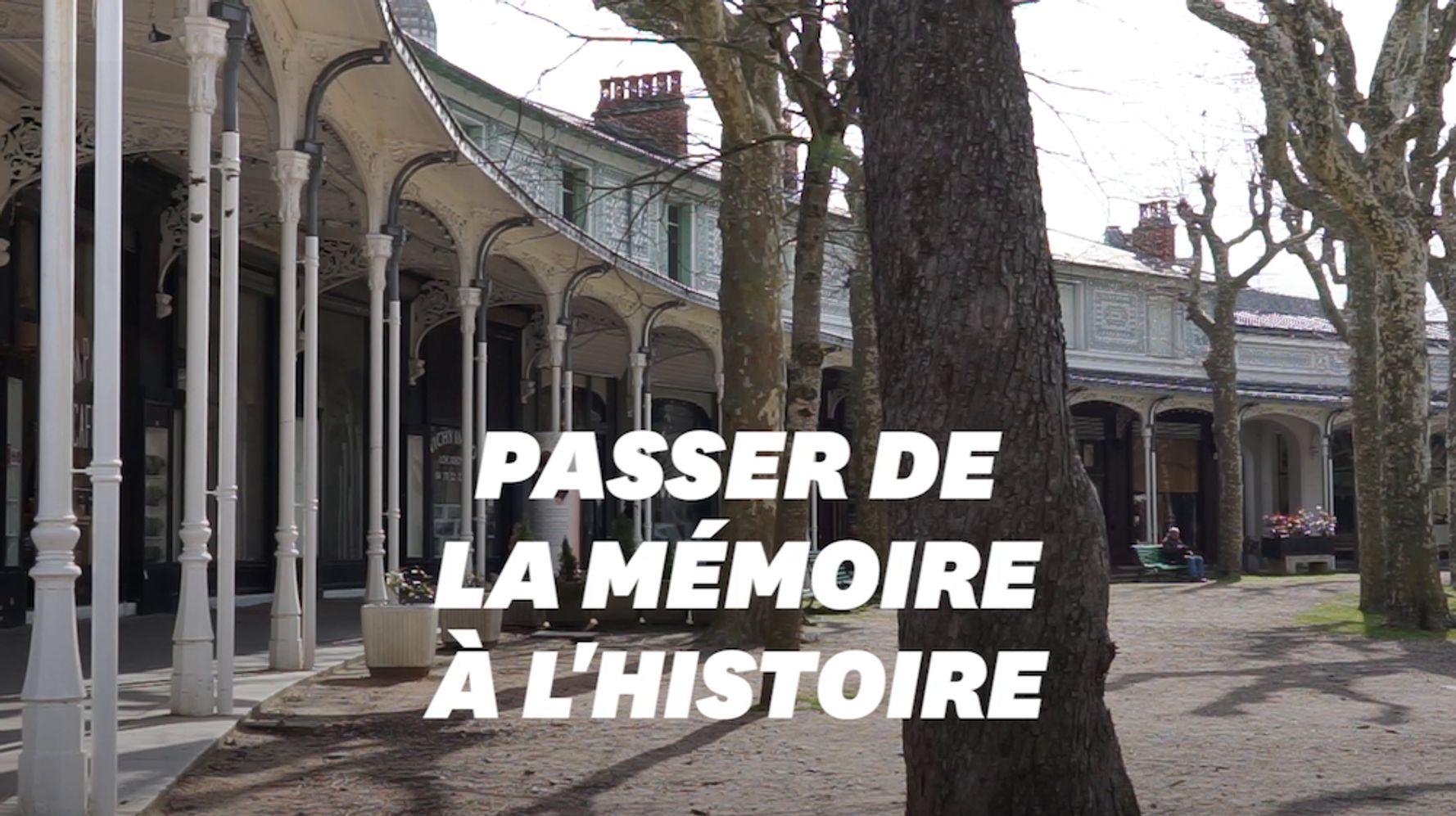 À Vichy, le douloureux travail de mémoire sur la guerre de 39-45