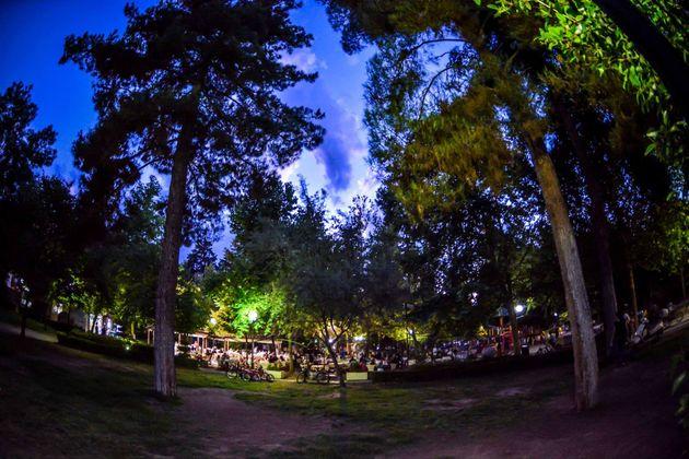 Το Πάρκο Αγίου Αντωνίου στη