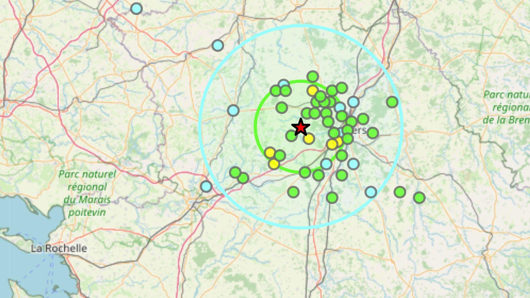 Un tremblement de terre ressenti près de Poitiers, pas de dégâts signalés