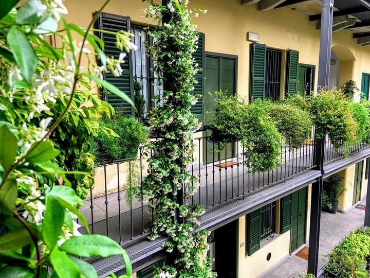 La casa di ringhiera a Milano di Antonella Brugnola da cui è iniziata la sua carriera di host