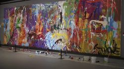 Una pareja arruina un cuadro valorado en 400.000 euros porque creían que era arte