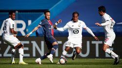 Lille bat le PSG et reprend la tête de la Ligue