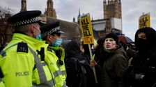 Thousands Rally In England And Wales Over Police Legislation