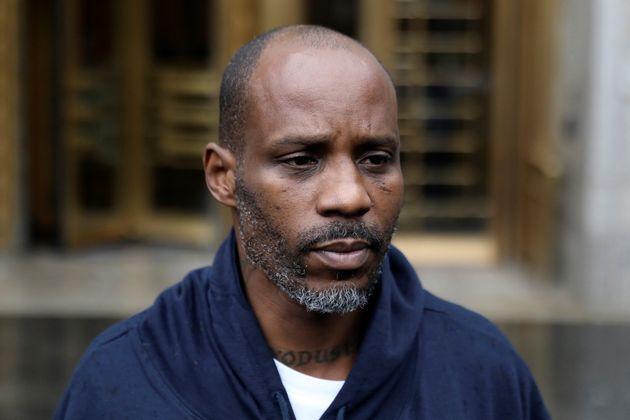 Earl Simmons, également connu sous le nom de rappeur DMX, ici quittant la Cour fédérale...