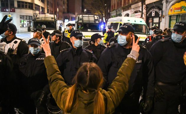 Dispersal Order Issued In Bristol Amid 'Kill The Bill' Protests Across UK
