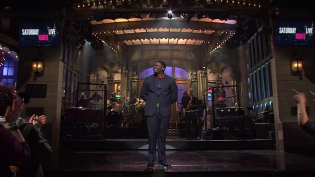 Daniel Kaluuya takes to the SNL