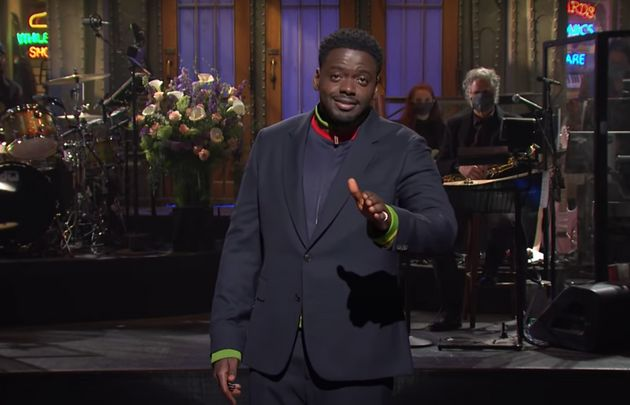 Daniel got big laughs from the SNL audience during his