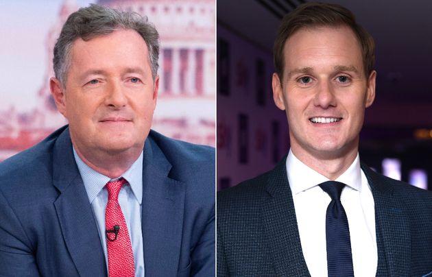 Piers Morgan and Dan