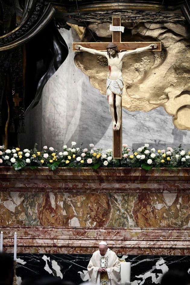 Λειτουργία από τον Πάπα Φραγκίσκο