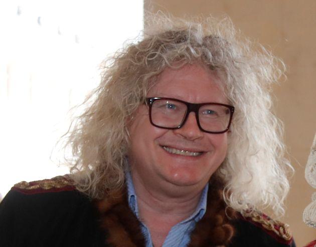 Pierre-Jean Chalençon, ici à l'hôtel des Invalides à Paris, le 5 mai