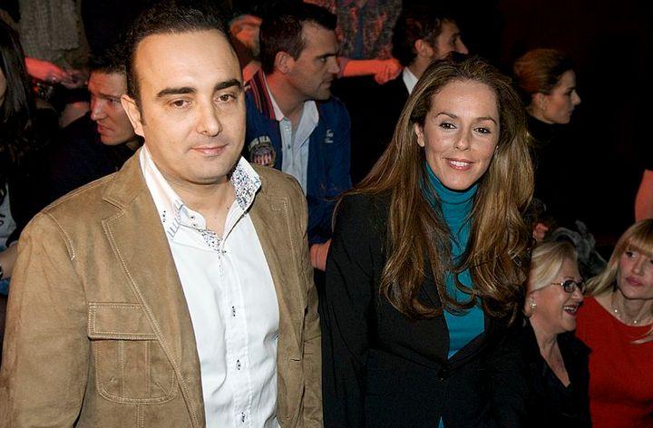 Rocío Carrasco y Fidel Albiac en 2012