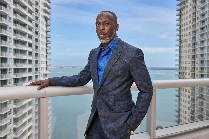 Michael K. Williams give a virtual red carpet look at his look for the SAG Awards on March 31 in Miami.