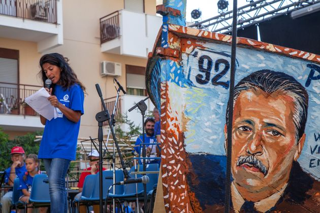 PALERMO, ITALY - 2015/07/19: The movement