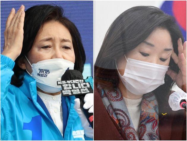 박영선 더불어민주당 서울시장 후보, 심상정 정의당