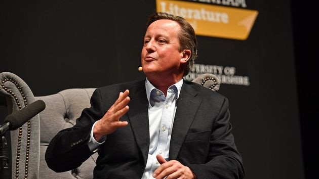 Texts Confirm David Cameron Lobbied Rishi Sunak To Help Save Greensill
