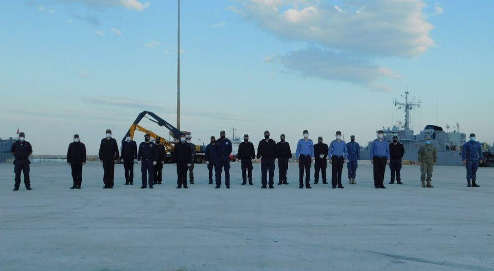 Εικόνες από την πολυεθνική άσκηση ναρκοπολέμου «Αριάδνη 21» στον Πατραϊκό