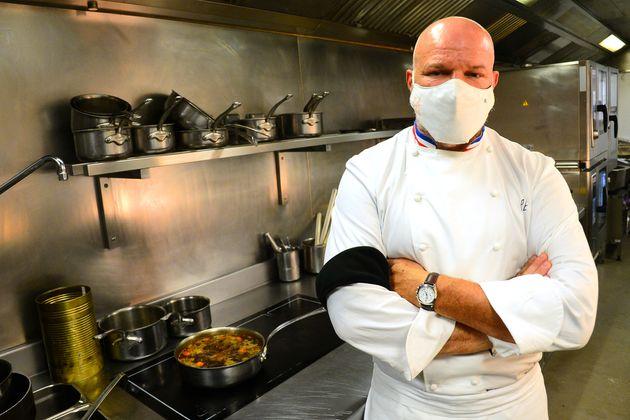 Philippe Etchebest, ici photographié dans son restaurant bordelais en septembre 2020, s'est dit très...