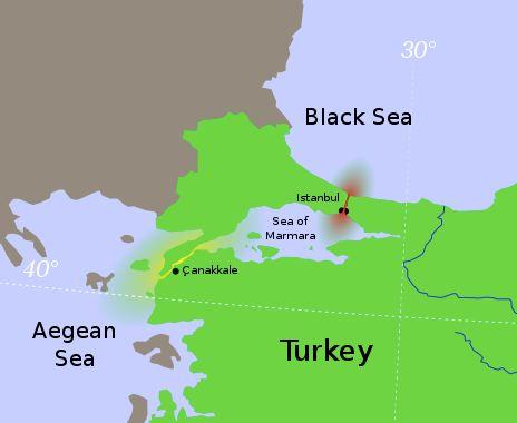 Τα Στενά του Βοσπόρου και το Κανάλ Ιστανμπούλ του