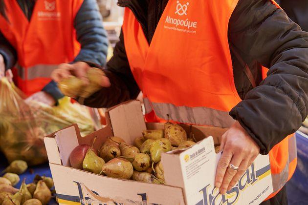 Food Saving Warriors: 500.000 κιλά μέσω του προγράμματος «Μπορούμε στη Λαϊκή» σε κοινωφελείς φορείς