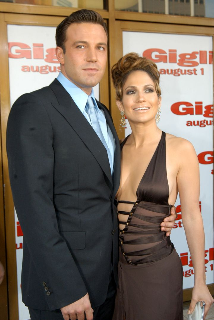 Ben Affleck and Jennifer Lopez attend the premiere of