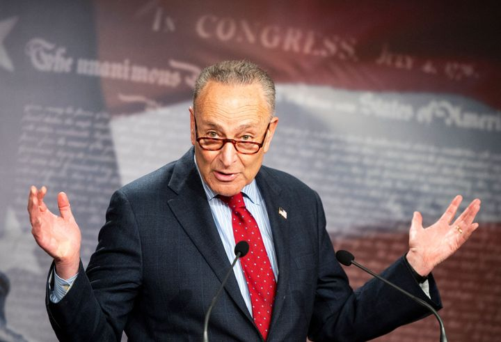 Senate Majority Leader Chuck Schumer (D-N.Y.) said Democrats would soon take action to repeal two Trump regulations.