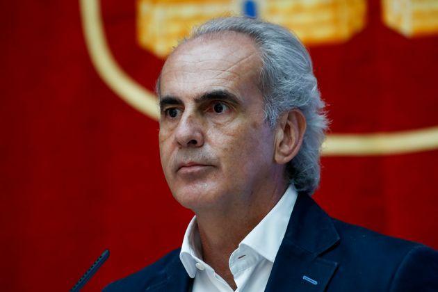El consejero de Salud madrileño, Enrique Ruiz Escudero, se reunió tres veces con intermediarios del producto