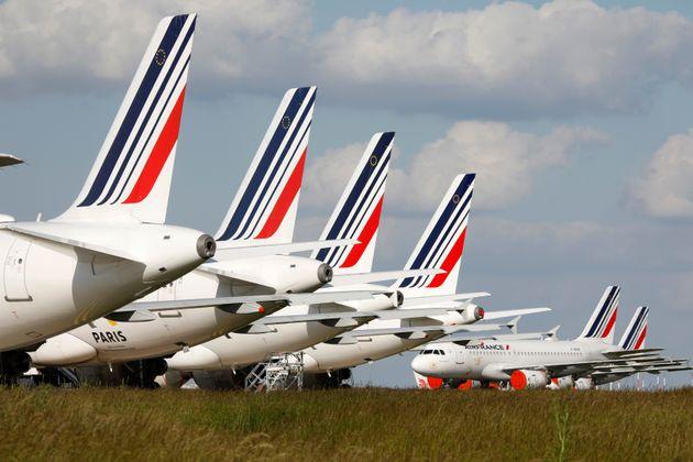 Pour bénéficier de nouvelles aides, Air France va devoir faire des concessions (photo d'illustration...