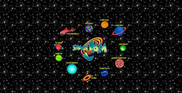 La primera web de 'Space