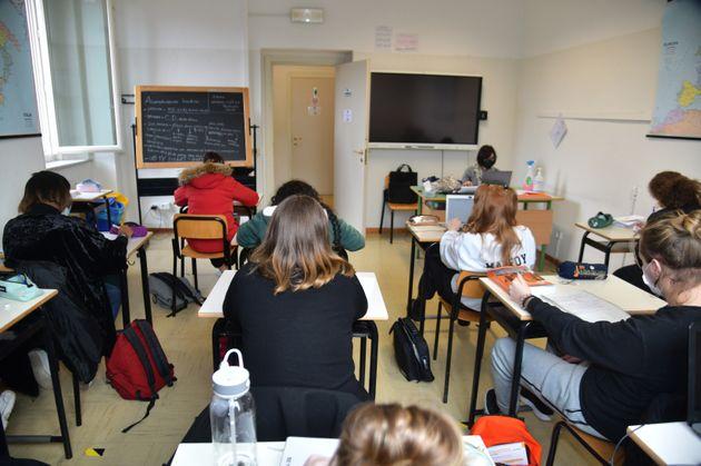 5/02/2021 Montecatini Terme istituto alberghiero Ferdinando Martini. sede della