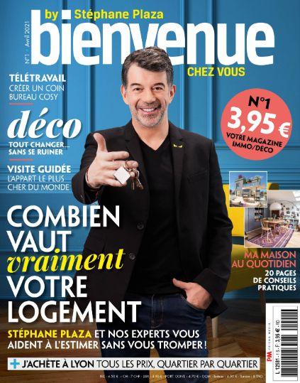 Stéphane Plaza lance son magazine sur l'immobilier et la