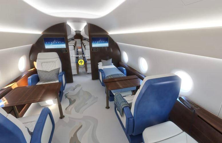Μέσα στο νέο Air Force One, που ταξιδεύει με ταχύτητα διπλάσια του