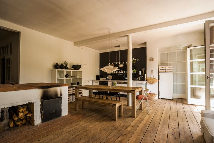 Rustic interiors are big news
