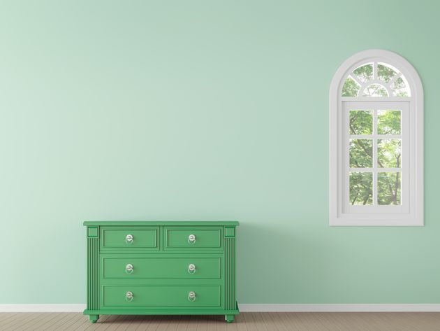 Painted furniture makes a room pop.
