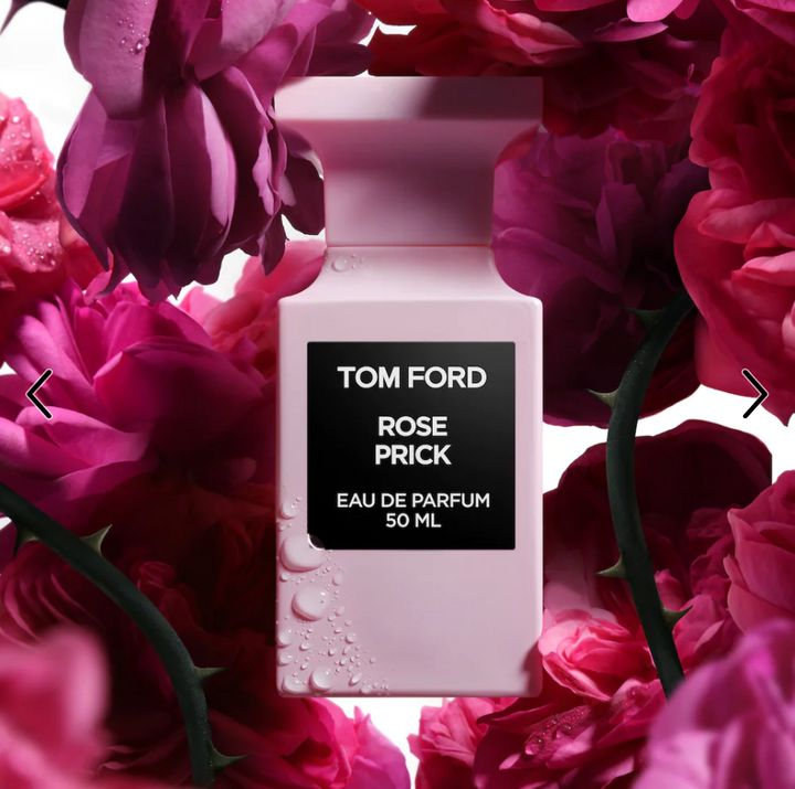 "<a href=""https://www.sephora.com/product/tom-ford-rose-prick-eau-de-parfum-P455598?skuId=2318764&amp;icid2=products%20grid:p455598"" target=""_blank"" rel=""noopener noreferrer"">Tom Ford's Rose Prick costs $895</a> for 8.4 ounces."
