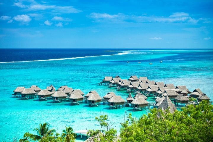 Bora Bora is a trending future travel destination, per Koala's report.