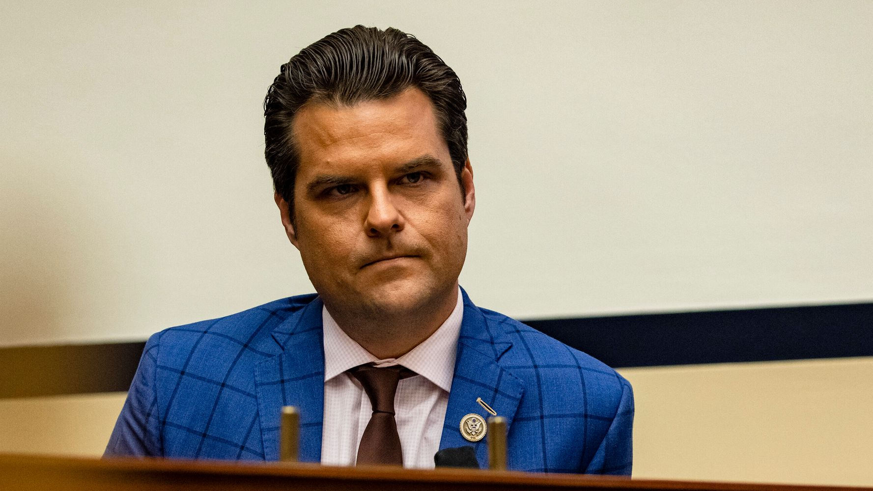 Matt Gaetz Reportedly Sought Blanket Pardon From Trump In Final Days Of Administration | HuffPost thumbnail